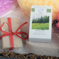 Spruced Forest Ring Soap  (Pick Your Ring Size)