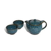 Miya Company Tea For Two Set In Blue - Beyond the Rack