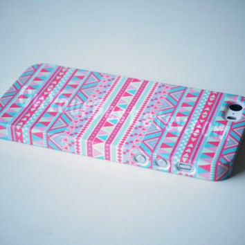 48d59065b5 Sweet Pink Aztec Geometric Tribal iPhone from OnYourBest on Etsy