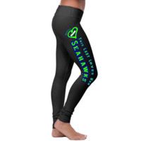 This Seattle LADY Loves Her Seahawks Leggings