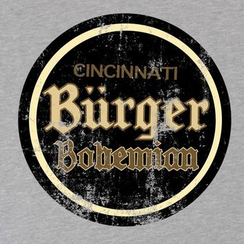 Burger Bohemian Beer Hooded Sweatshirt