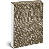 Gold Bling Pocket Note with Magnetic Closure