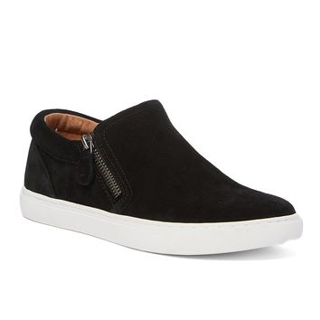 Kenneth Cole Gentle Souls Black Lowe Suede Sneaker - Women Size: 8.5