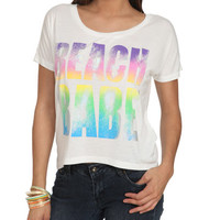 Beach Babe Tee | Shop Tops at Wet Seal