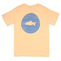 Hard Pressed OG Pocket Tee in Butter by Waters Bluff