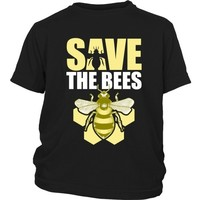 Save the Bees (Honeycomb) - Kid's Shirt