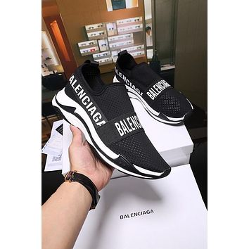 Balenciaga Triple S Speed Trainers Sneakers - Sale-4