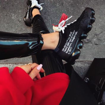 shosouvenir  OFF-WHITE x Nike Air Vapor Max Leisure sports shoes