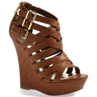 Kendall & Kylie Madden Girl 'Fortune' Wedge Sandal