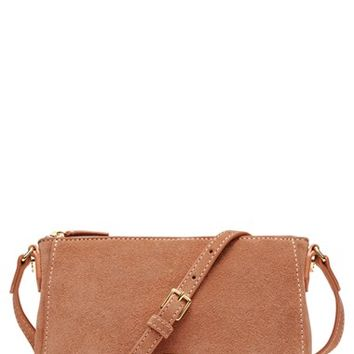 Elizabeth and James 'Micro Cynnie' Suede Crossbody Bag | Nordstrom