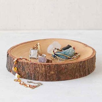 Wood Slab Catch-All Dish