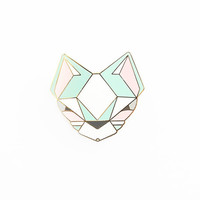 Pastel Cat Brooch