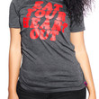 The Eat It Tee in Charcoal
