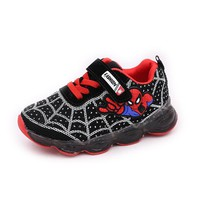davidyue led  kids shoes girls boys luminous glowing sneakers mesh shoes for boys girls lighted led baby children mesh sneakers