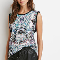 Abstract Graphic Mesh Top