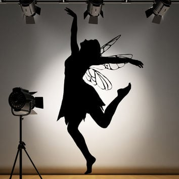 Vinyl Wall Decal Sticker Dancing Fairy #AC167