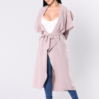 Business Casual Coat - Lavender