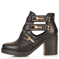 AUBREY Open Side Chunky Boots - Back In Stock  - New In