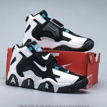 Nike Air Barrage Mid QS White/Black