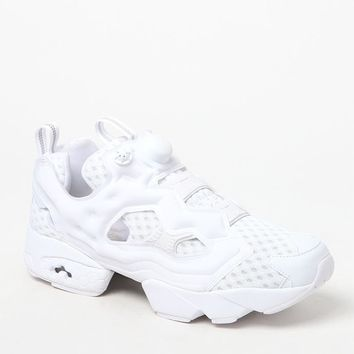 Reebok InstaPump Fury OG CC White and Grey Shoes at PacSun.com