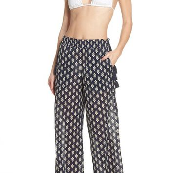 Tory Burch Double Diamond Cover-Up Pants   Nordstrom