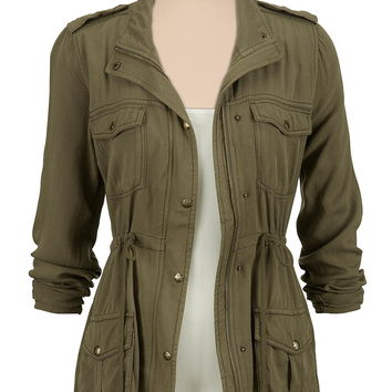 Lightweight Military Anorak Jacket
