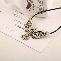 The Mortal Instruments City of Bones The Infernal Devices Tessa's Clockwork Angel Wings Pendant necklace