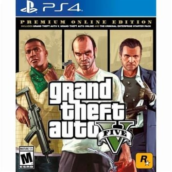 Grand Theft Auto V: Premium Online Edition - PlayStation 4