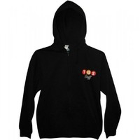 30 Rock Unisex TGS Zip Hoodie Black Small