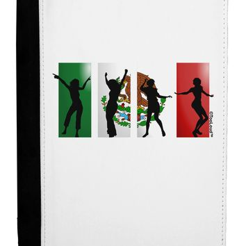 Mexican Flag - Dancing Silhouettes Ipad Mini Fold Stand  Case by TooLoud