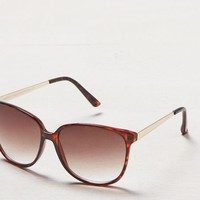 AEO Women's Colorblocked Icon Sunglasses (Torte)