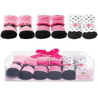Set of either Baby Boys or Girls Shoe Socks