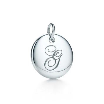 "Tiffany & Co. - Tiffany Notes®:Letter ""G"" Disc Charm"