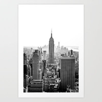 New York City Art Print by Studio Laura Campanella