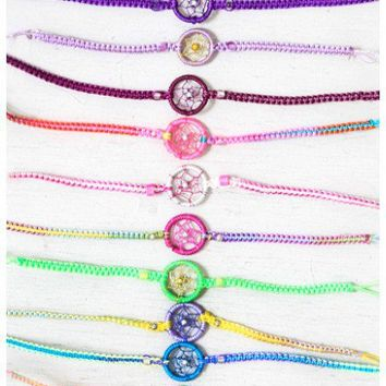 Planet Blue - Dreamcatcher Bracelet