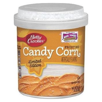 Betty Crocker Candy Corn Frosting Limited Edition