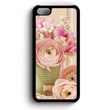Flower Peach iPhone 5c case