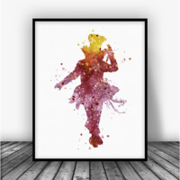 Alice in Wonderland Mad Hatter 1 Art Print Poster