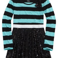 Fit And Flare Striped Tunic   Girls Tops & Tees Clothes   Shop Justice
