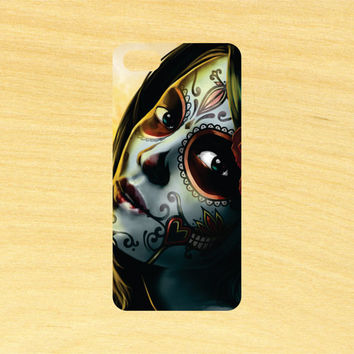 Day of the Dead Girl Version 3 iPhone 4/4S 5/5C 6/6+ and Samsung Galaxy S3/S4/S5 Phone Case
