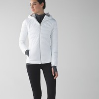 down for a run jacket | women's running jackets | lululemon athletica
