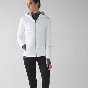 down for a run jacket | women's running from lululemon