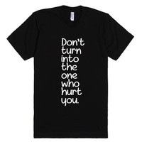 Stop The Cycle-Unisex Black T-Shirt