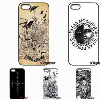 For Motorola Moto E E2 E3 G G2 G3 G4 PLUS X2 Play Style Blackberry Q10 Z10 HanHent Valar Morghulis Game Of Thrones Phone Case
