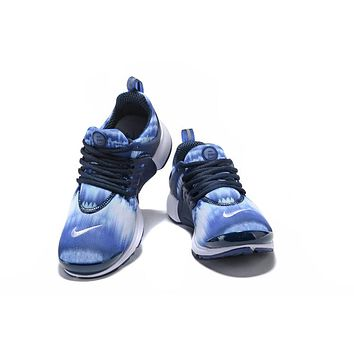 NIKE PRESTO Camouflage net cloth Gym shoes