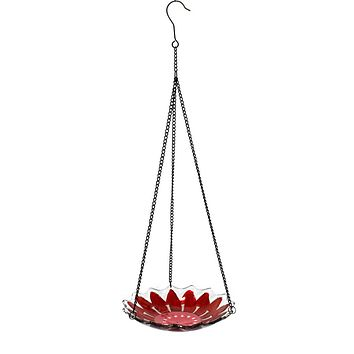 Home & Garden Pink Hanging Bird Feeder Bird Feeder