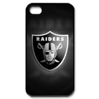 Unique NFL Oakland Raiders Team Logo -Iphone 4 or 4s Cover, Custom Best Case show 1z582