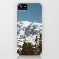 Retro Rainier iPhone & iPod Case by Caleb Troy