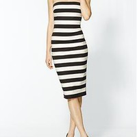 Robert Rodriguez Graphic Stripe Strapless Dress | Piperlime