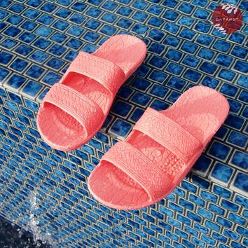 Kids Pink Jandals® - Pali Hawaii Sandals